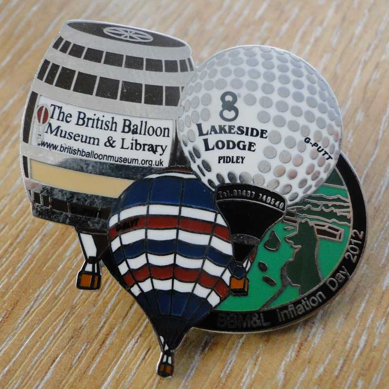 2012 Inflation Day Pin
