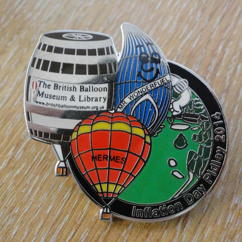 2014 Inflation Day Pin