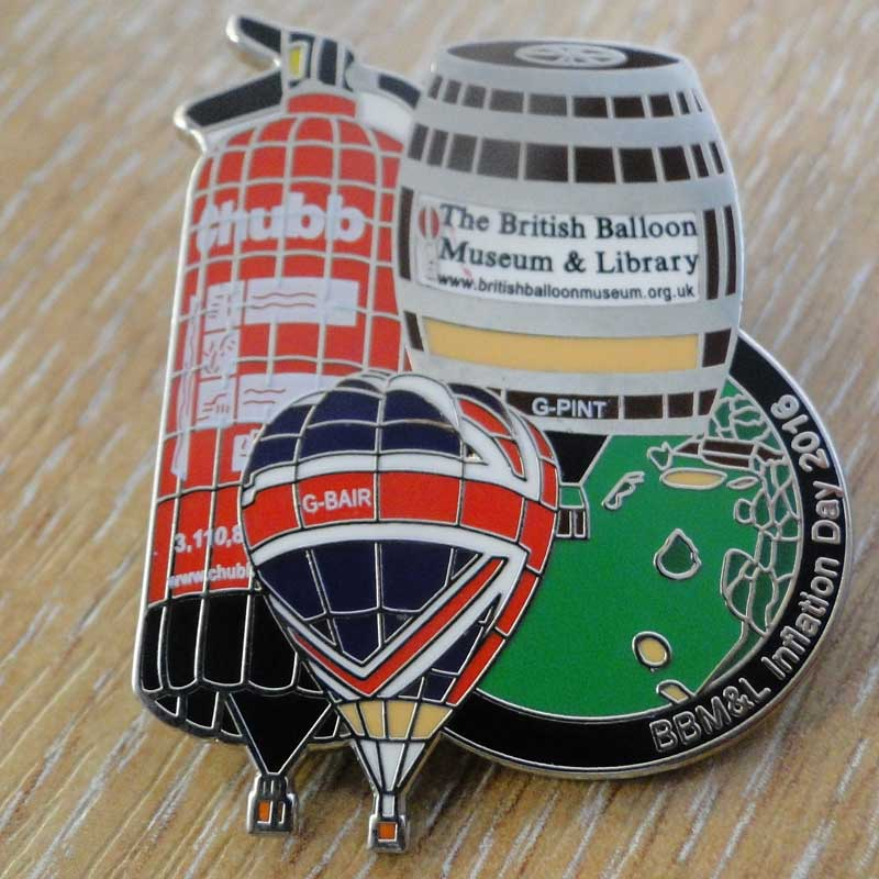 2016 Inflation Day Pin