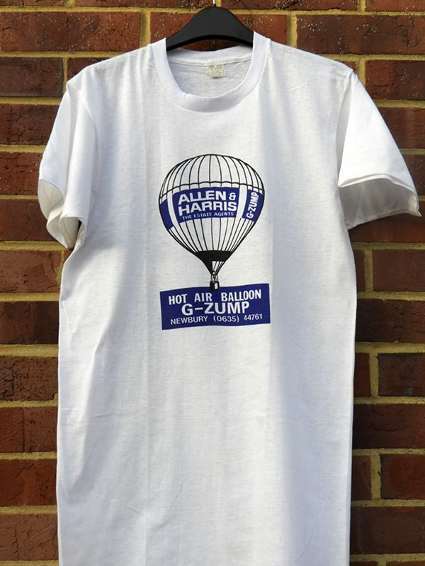 Allen & Harris T shirt donated by John Baker.