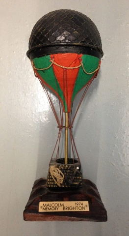 Malcolm Brighton Award - believed from Italian Balloonist Franco Seigre