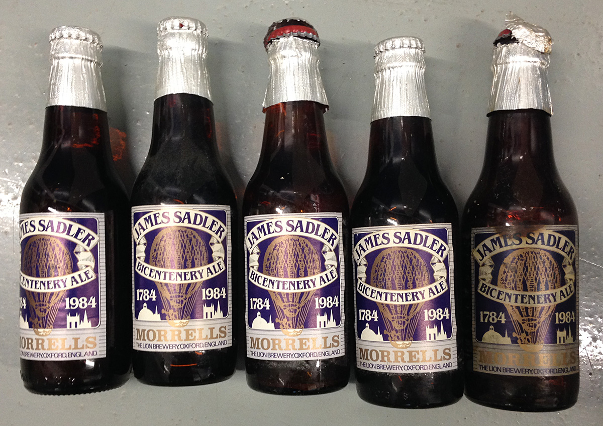 Sadler Bicentennial 1784-1984. Specially Brewed Beer.
