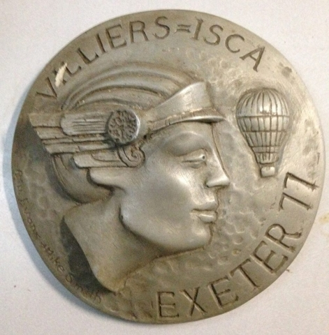 Villiers ISCA Balloon Meet Exeter1977 Plaque