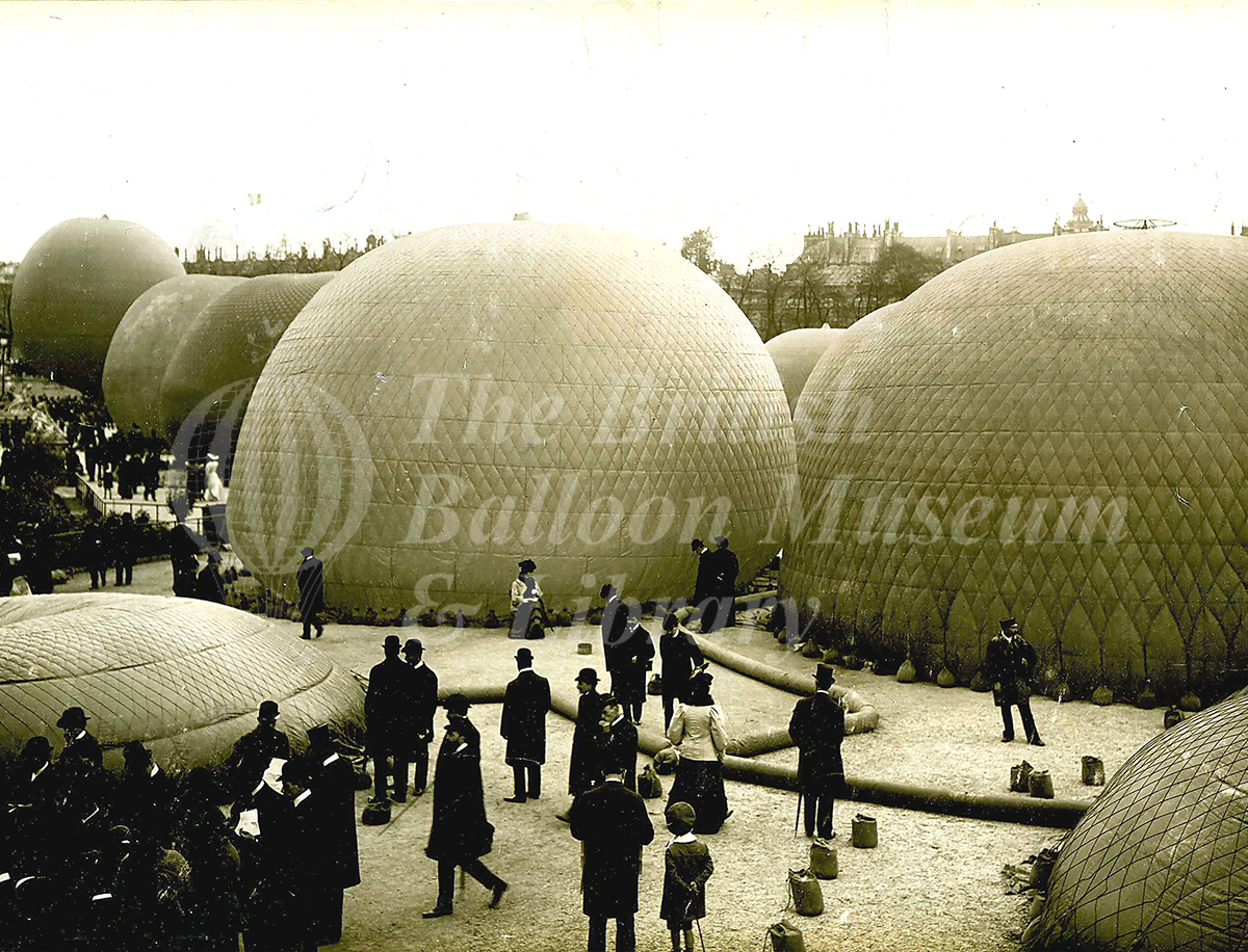 Grand Prix Balloon Race, Paris – 17 October 1905