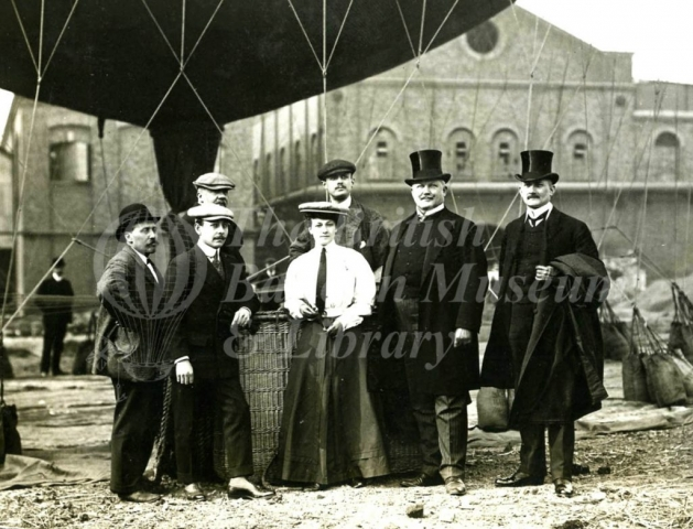 Aero Club at Wandsworth and Putney Gasworks -1906