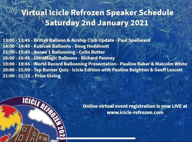Icicle Refrozen 2021 – on a screen near you.